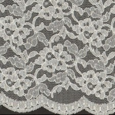 White Fancy Floral Lace