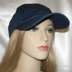 Blue Denim Newsboy Kova Hat Headcovering