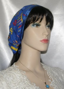 Channah Black Sheer Mimkhatah Kerchief Scarf Headcovering