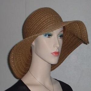 Cinnamon Weave Floppy Kova Hat Headcoverings