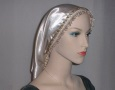 Crepe Back Satin Frontal Trimmed Snood Headcoverings