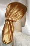 Ginger Satin Snood Headcoverings