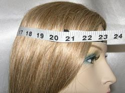 sizing - measuring head for bucharian kippah