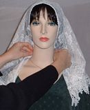 Tying Mantilla Veil Head Coverings Instruction #2
