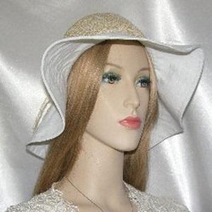 Tan Creme Weave Cotton Kova Hat Headcovering