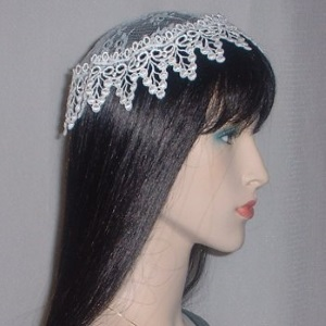 Ivory Grape Venise Buchari Kippah