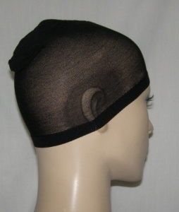 Black Nylon Under Cap Wig Cap