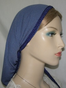 Periwinkle Blue Polyester Snood