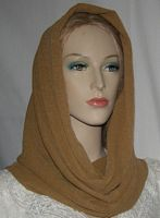 Camel Design Cowl Snood Head Covering