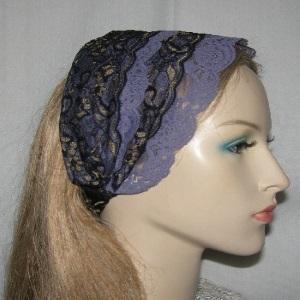 Lavender Lace Headband