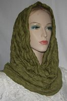 Loden Green Cowl Snood