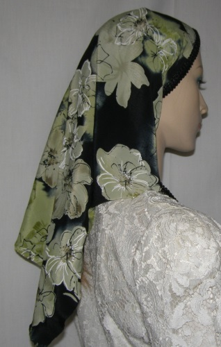 Polyester Tiechel Headcoverings Poly Blend Scarves Head