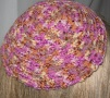 Orange Multi Kippah Skullcap