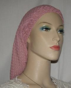 Pink Design Poly Slip-on Snood