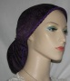 Purple Suede Snood Headcoverings