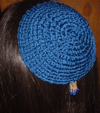 CROCHETED YARMULKE PATTERN | FREE PATTERNS