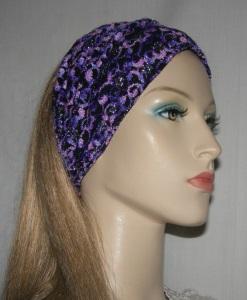 Purple & Pink Design Headband