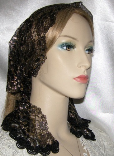 Unique Hair Wrap Headcoverings Veil Head Scarves