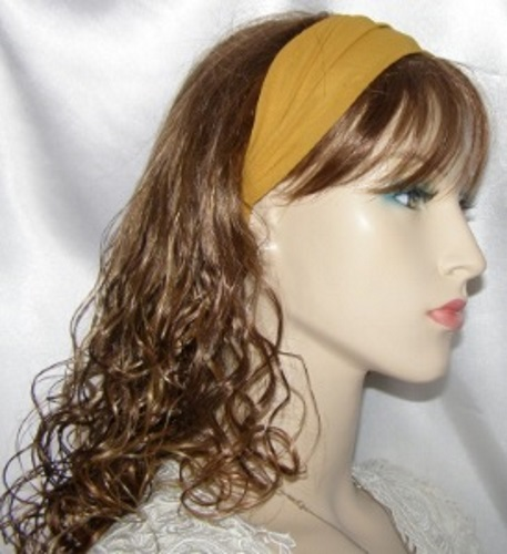 Amber Silk Headband