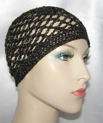 Crochet Hair Net : FRK5. Net Frik Kippah. Soft and keeps hair in place. Also makes a ...