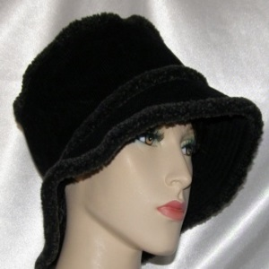 Black Corduroy Hats