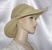 Wheat Weave Bolo Hat