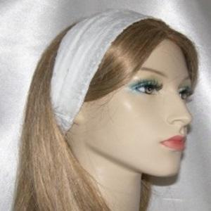 White Eyelet Headband