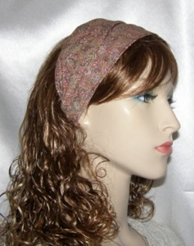 Bronze Paisley Headband