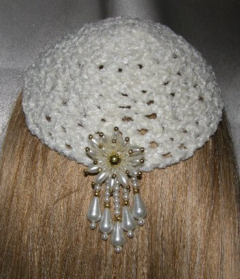 Chadis Crafts and Kippot-Hand Crocheted Yarmulkahs (Kippot, Kipot