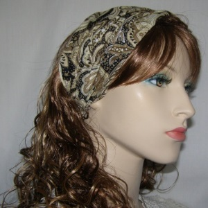 Tans Browns Design Headband