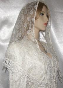 Ivory Lace Ivory Yisraeli Design Venise Trim