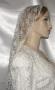 Ivory Lace Mantilla Veil