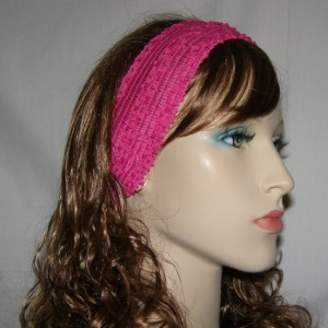 Pink Stretch Headband