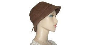 Brown Rabbit Faux Hair Hat