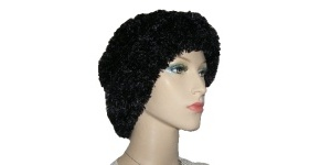 Black Shell Poly Fur Kova
