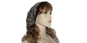 Black White Design Kerchief