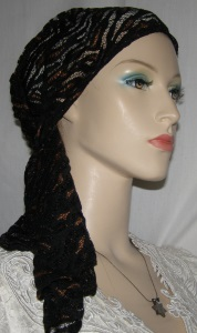 Black Brown Slip On Miptachat Headcovering