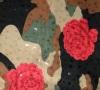 Rose Floral Lame