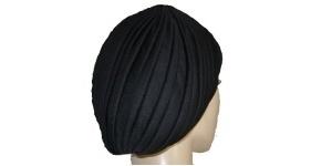 Black Turban Snood