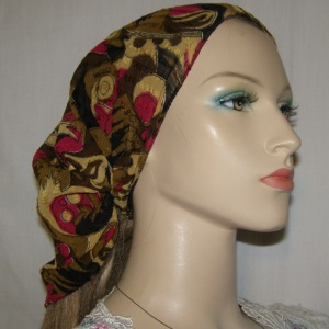 Extra Wide African Design Headband
