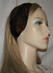Black Brown Design Headband