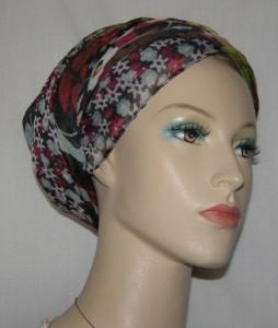 Cardinal Lime Aqua Design Mitpachat Tiechel Scarf Headcoverings