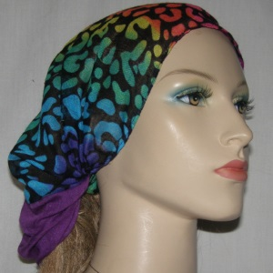 Dual Color Voile Headband