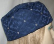 Navy & Gold Design Kippah