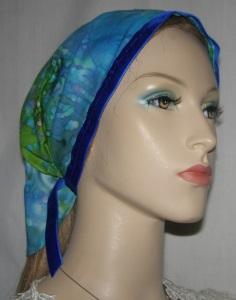 Avigayil Multi Pastels Batik Mimkhatah Kerchief Headcovering