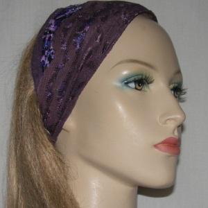 Plum Sari Style Headband