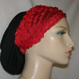 Red Ruffle Design Headband