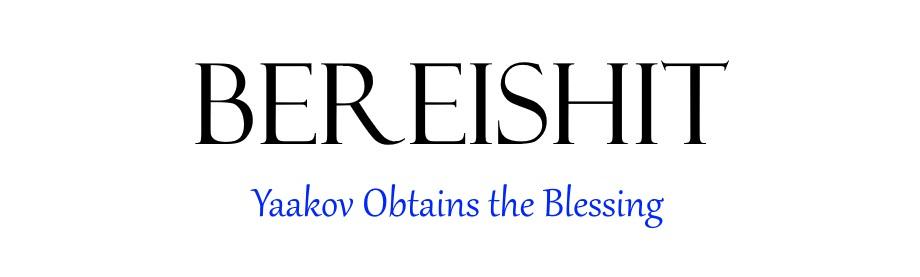 Bereishit Chapter 27