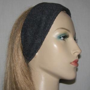 Dark Gray Fleece Headband
