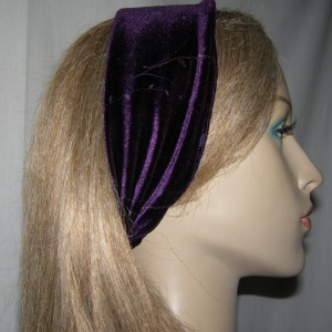 Purple Silver Glitter Headband